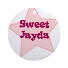 Sweet Jayda Ornament (Round)