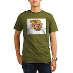Retro Coffee Organic Men's T-Shirt (dark)