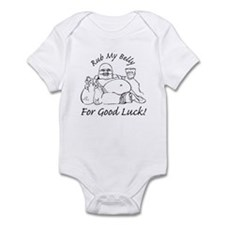 Rub My Belly For Good Luck Infant Bodysuit
