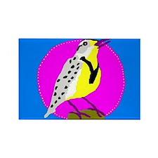 meadowlark Rectangle Magnet (10 pack)