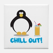 Chill Out! Tile Coaster