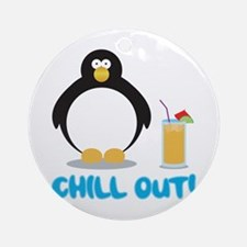 Chill Out! Ornament (Round)