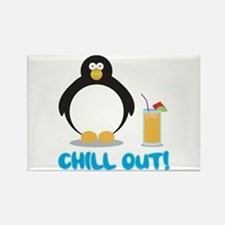 Chill Out! Rectangle Magnet