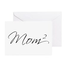 Mom Squared Greeting Cards (Pk of 20)