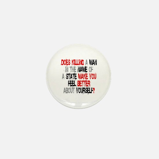 Killing make you better? Mini Button
