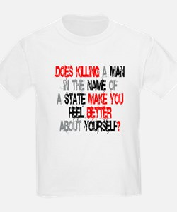 Killing make you better? Kids T-Shirt
