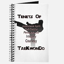 Traditional Taekwondo Tenets Journal