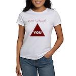 Zombie Food Pyramid Women's T-Shirt