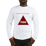 Zombie Food Pyramid Long Sleeve T-Shirt