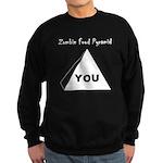 Zombie Food Pyramid Sweatshirt (dark)