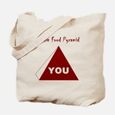 Zombie Food Pyramid Tote Bag