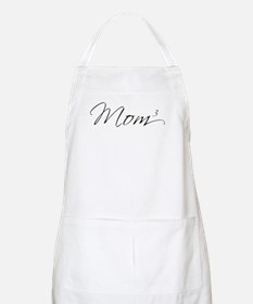 Mom of 3 BBQ Apron