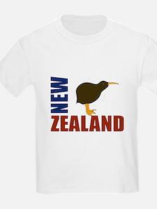 New Zealand Kiwi Stars T-Shirt