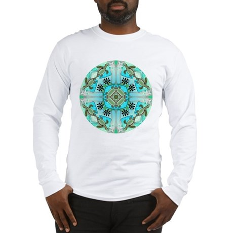 Sea Turtle Healing Medicine Long Sleeve T-Shirt