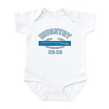 Infantry CIB-EIB Infant Bodysuit
