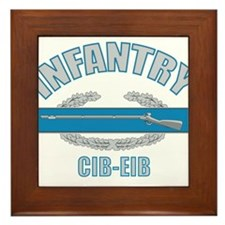 Infantry CIB-EIB Framed Tile