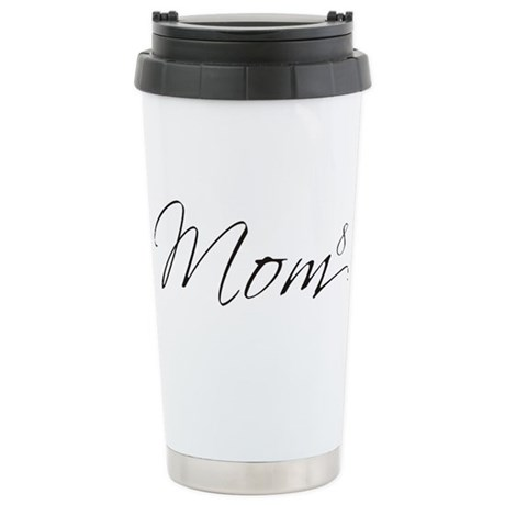 Mom of 8 Stainless Steel Travel Mug