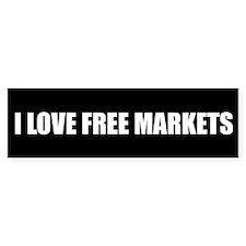 I LOVE FREE MARKETS