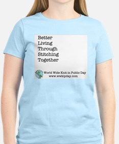 Better Living Through Stitching Together T-Shirt