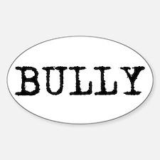 Bully Oval Decal