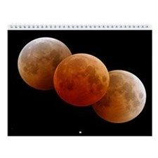 Earth & Moon by Voyager Wall Calendar