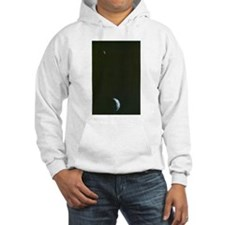 Earth & Moon by Voyager Hoodie