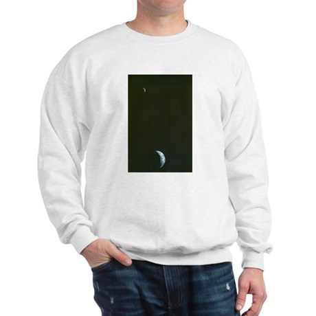 Earth & Moon by Voyager Sweatshirt
