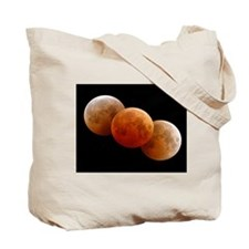 Earth & Moon by Voyager Tote Bag