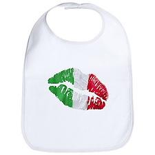 Italian kiss Bib