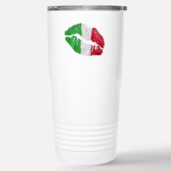 Italian kiss Stainless Steel Travel Mug