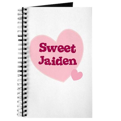 Sweet Jaiden Journal