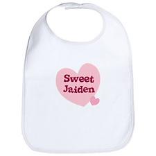 Sweet Jaiden Bib