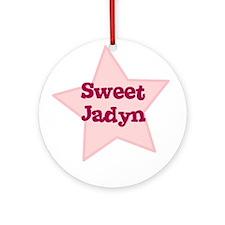 Sweet Jadyn Ornament (Round)