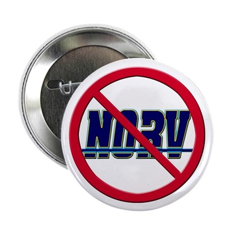 "Fire Norv!! No More Norv! 2.25"" Button (100 p"