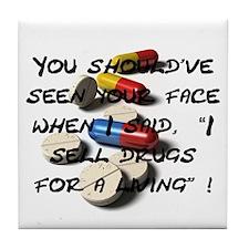 Seen Your Face Coaster