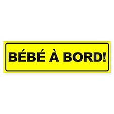 Bebe a Bord Bumper Bumper Sticker