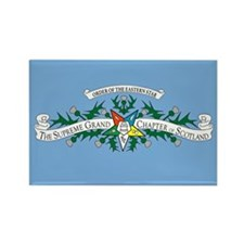 Supreme Grand Chapter of Scot Rectangle Magnet