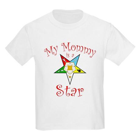 My Mommy's A Star Kids Light T-Shirt