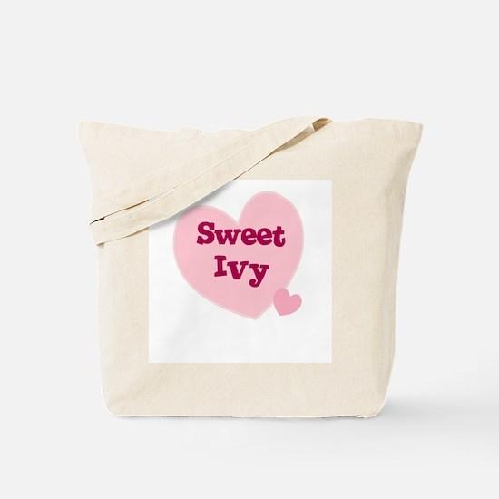 Sweet Ivy Tote Bag