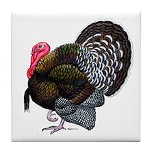 Brown Tom Turkey Tile Coaster