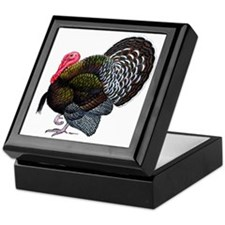 Brown Tom Turkey Keepsake Box