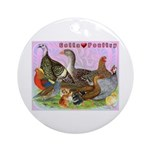 Gotta Love Poultry Ornament (Round)