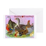 Gotta Love Poultry Greeting Card