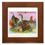 Gotta Love Poultry Framed Tile