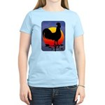 Sunrise Rooster Women's Light T-Shirt