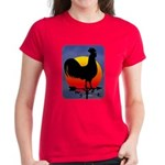 Sunrise Rooster Women's Dark T-Shirt