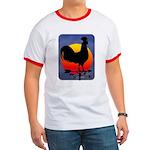 Sunrise Rooster Ringer T