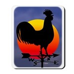Sunrise Rooster Mousepad