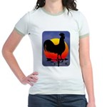 Sunrise Rooster Jr. Ringer T-Shirt