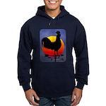 Sunrise Rooster Hoodie (dark)